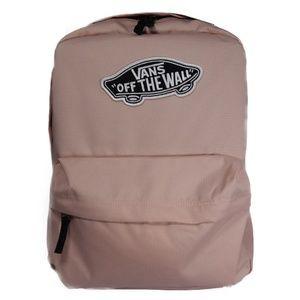 VANS Off The Wall Backpack Bookbag (Cream / Black)